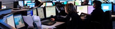 911 call center, public safety, control rooms