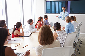 conference rooms, control bridge