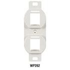 wallplate inserts, wallplates, jack frames
