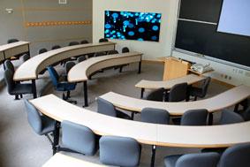 control bridge, lecture halls