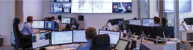 police operations center, public safety, control rooms