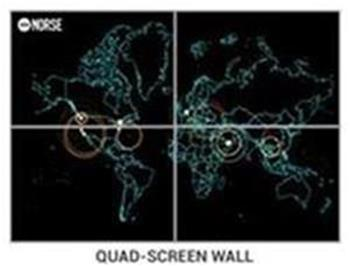 Quad-Screen-Wall