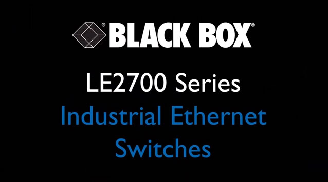 LE2700IndustrialEthernetSwitches
